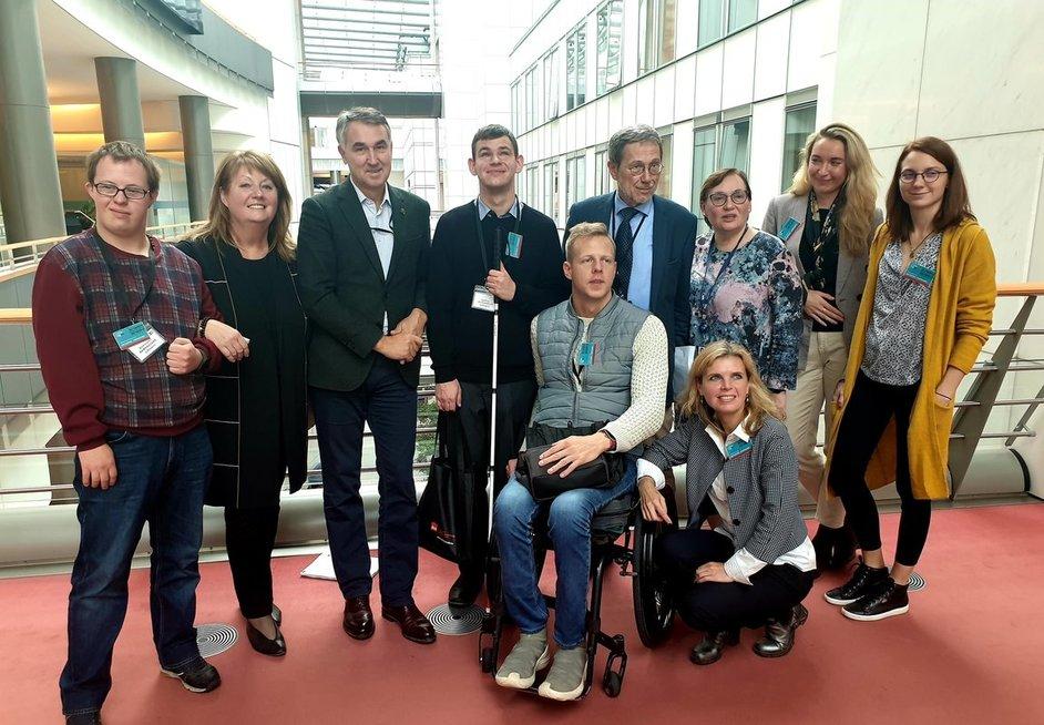 """""""Freedom Drive"""" protesto eitynėse dalyvavę Lietuvos atstovai susitiko su europarlamentarais."""