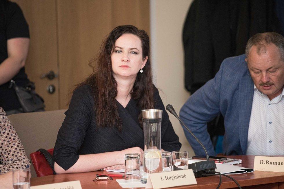 Inga Ruginienė (Arnas Strumila/ Foto diena nuotr.)