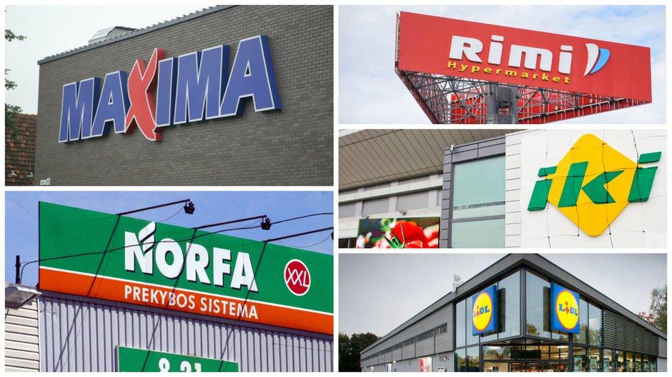 Prekybos centrai (tv3.lt fotomontažas)