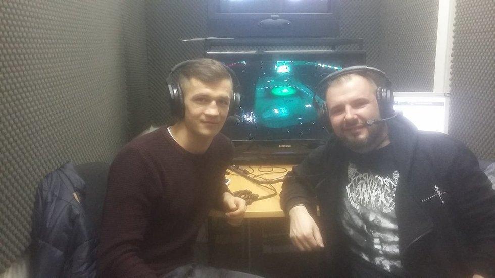 Nerijus Ališauskas ir Maksimas Vojevodinas (nuotr. facebook.com)