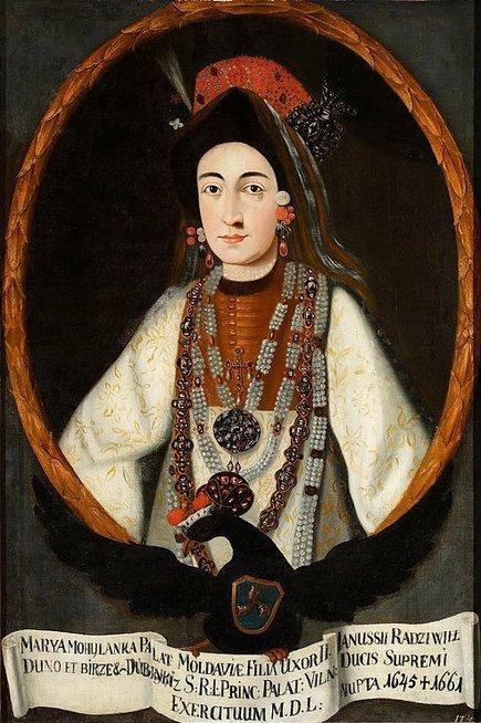 Jonušo Radvilos antra žmona Marija Lupul