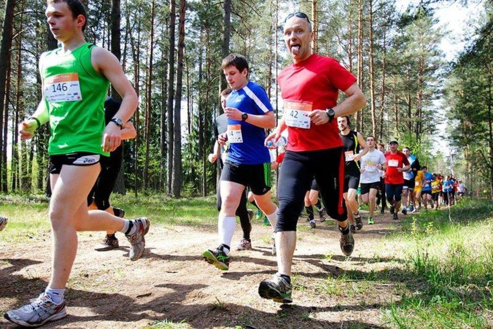 Bėgimo entuziastai rinksis į didžiausią Lietuvoje bėgimą miško takais (nuotr. Organizatorių)