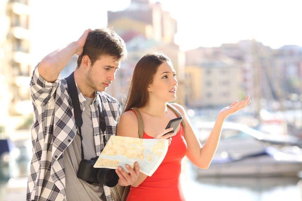 Turistai (nuotr. 123rf.com)