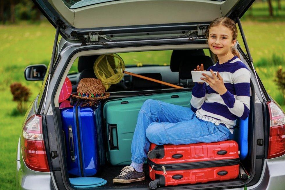 Patarimai, planuojant vasaros keliones su šeima
