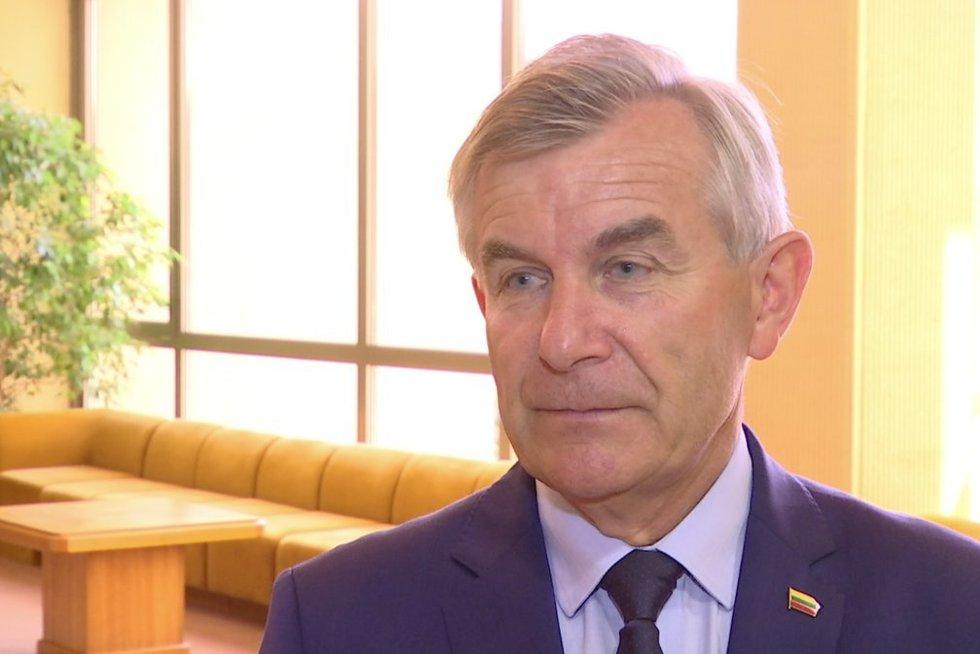 Viktoras Pranckietis (nuotr. stop kadras)