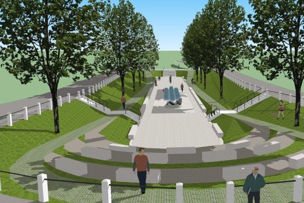 Kaunas pradeda Kauko laiptų rekonstrukciją (nuotr. Kauno savivaldybės)