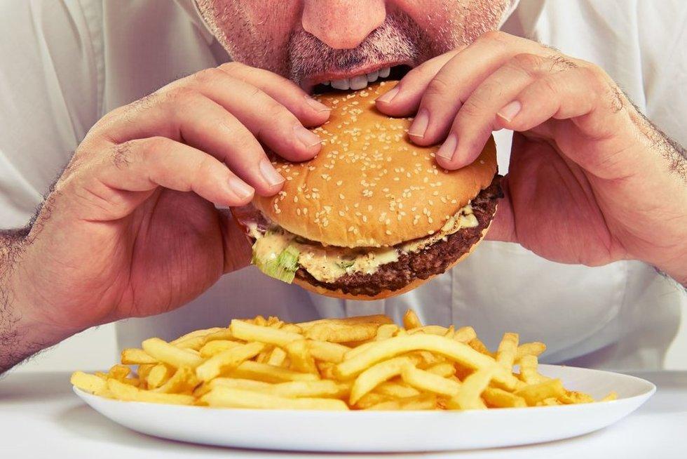 Mėsainis  (nuotr. 123rf.com)