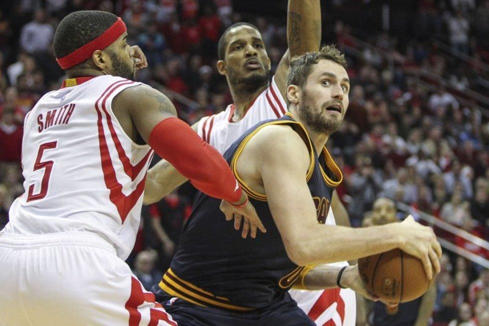 """""""Rockets"""" -  """"Cavaliers""""  (nuotr. SCANPIX)"""