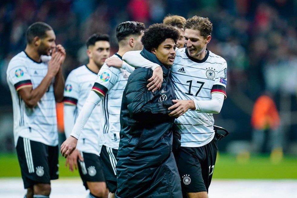 Vokietijos futbolo rinktinė (nuotr. SCANPIX)