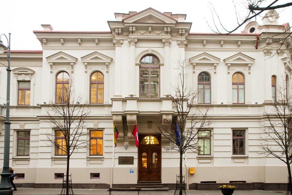 Lietuvos Respublikos Susisiekimo ministerija (nuotr. Tv3.lt/Ruslano Kondratjevo)