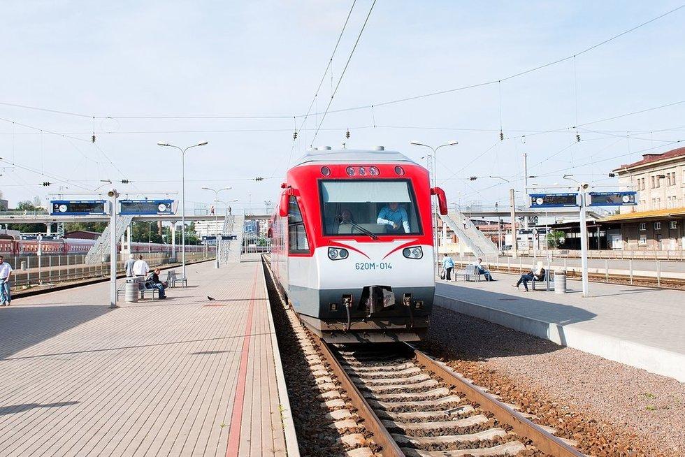 Vilniaus geležinkelio stotis (nuotr. Fotodiena.lt)