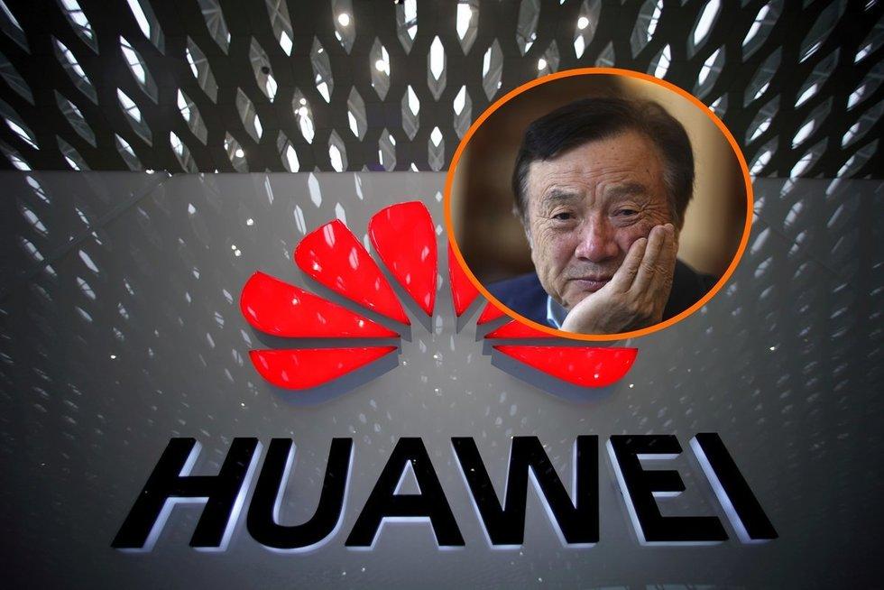 """Naujiems """"Huawei"""" įrenginiams iškilo pavojus likti be """"Google"""" programų (nuotr. SCANPIX) tv3.lt fotomontažas"""