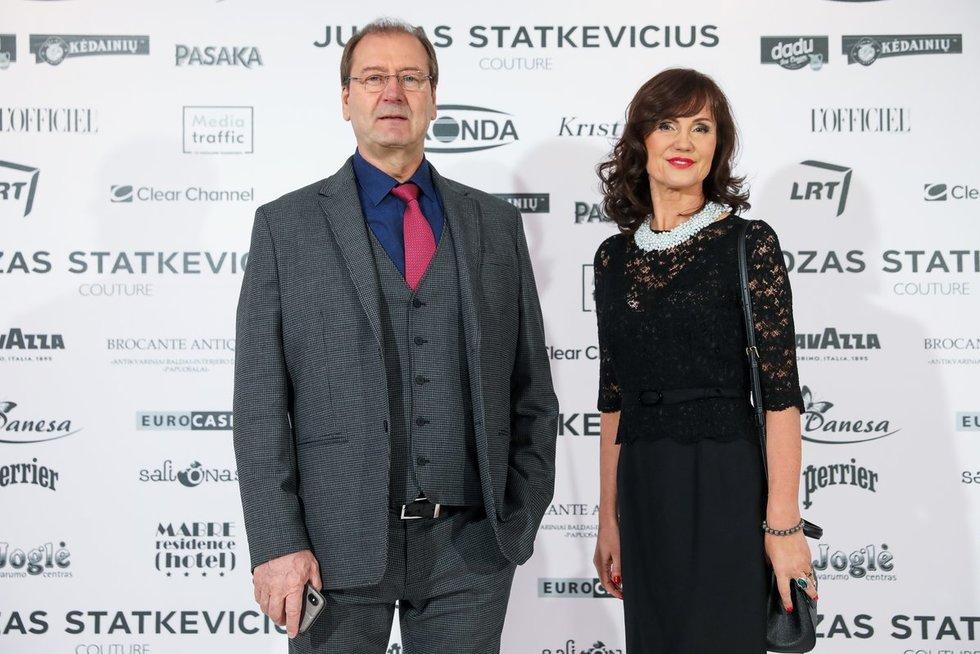 Viktoras Uspaskichas ir Jolanta Blažytė apsilankė Juozo Statkevičiau šou (Fotobankas)