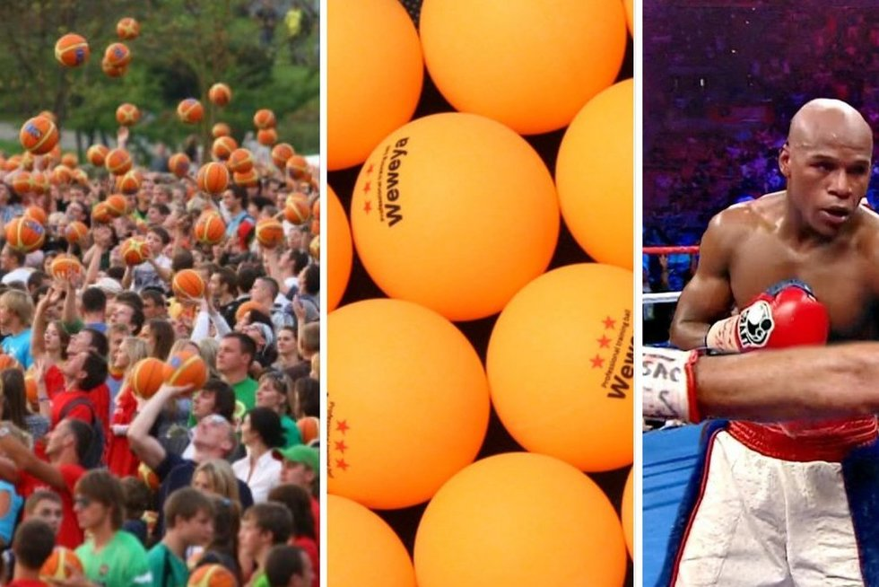 Įdomiausi sporto faktai (tv3.lt fotomontažas)