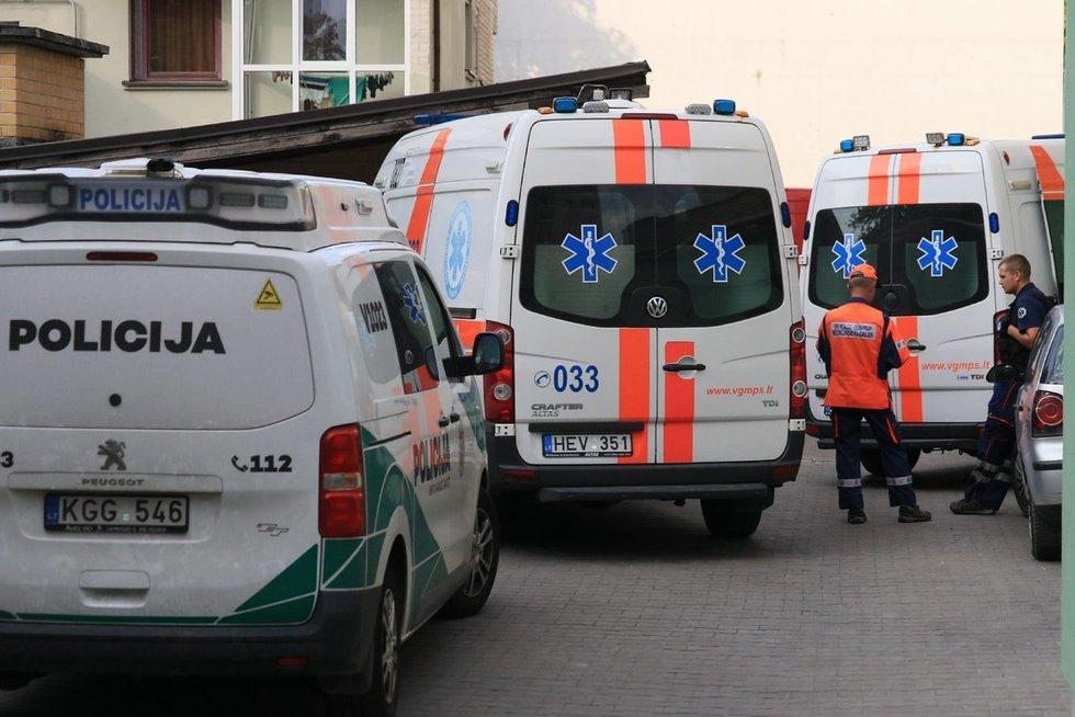 Nelaimė Vilniuje (nuotr. Broniaus Jablonsko)