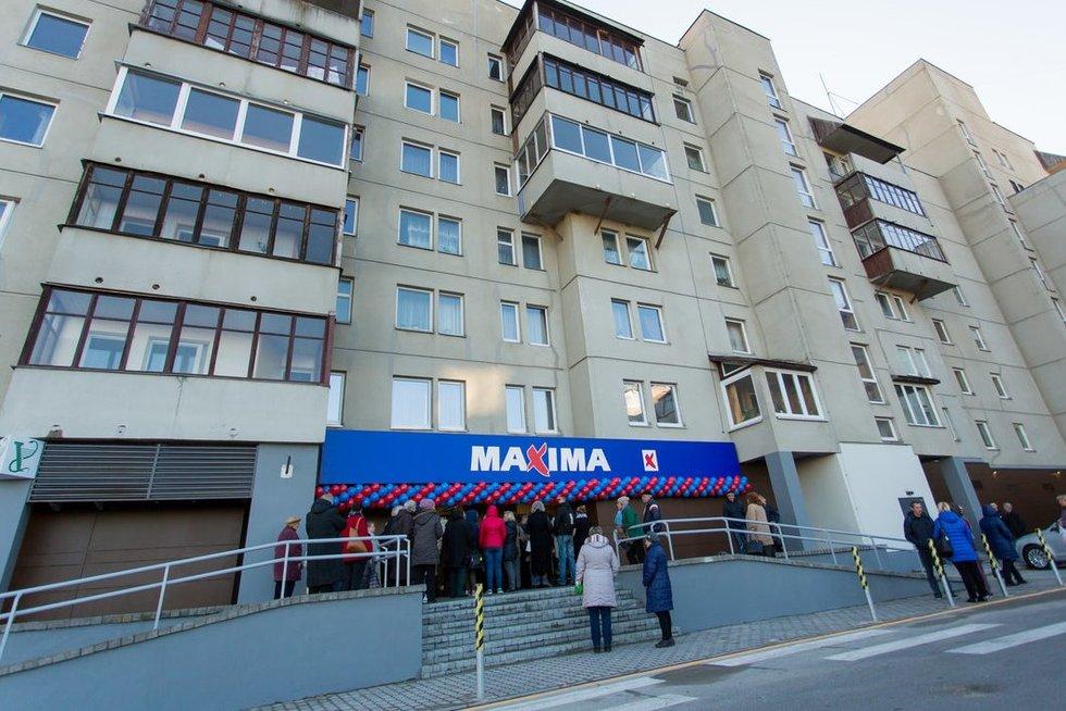 Atnaujinta Maxima Pilaitėje (nuotr. Organizatorių)