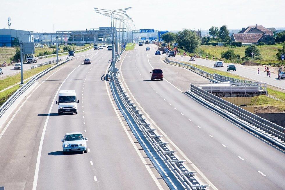 Kelias Kaunas-Vilnius (nuotr. Fotodiena.lt)