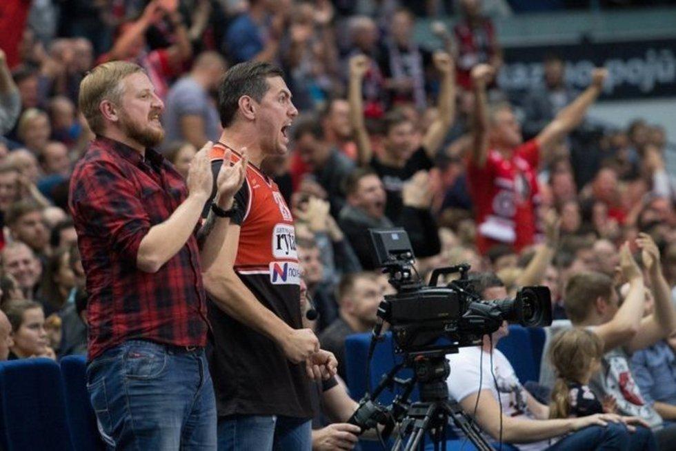 P. Ambrazevičius ir J. Jankevičius (nuotr. Organizatorių)