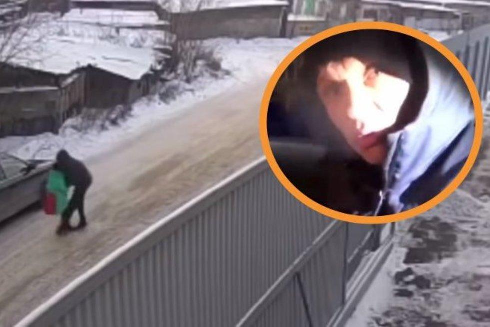 9-metę išgelbėjo iš pedofilo gniaužtų: būtų išprievartavęs, jeigu ne drąsus moksleivis (nuotr. YouTube)