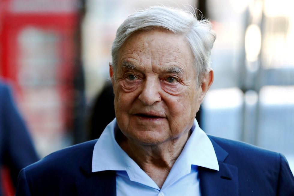 Milijardierius investuotojas George'as Sorosas (nuotr. SCANPIX)