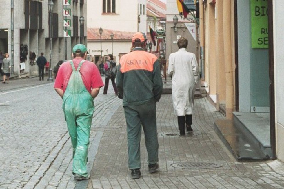 Darbininkai (nuotr. Fotodiena.lt)