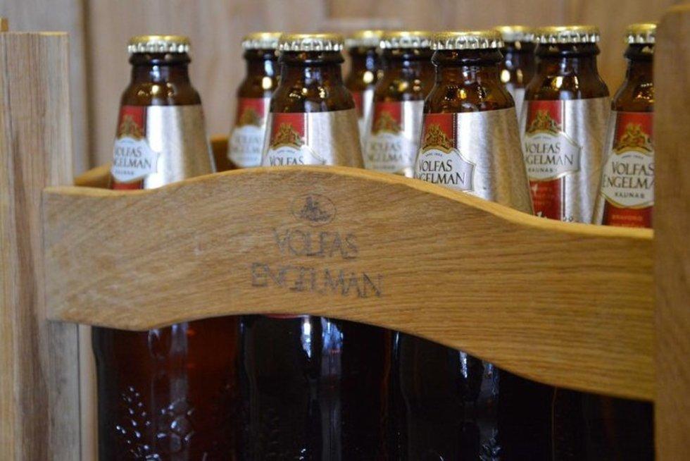 """Bravoras """"Volfas Engelman"""" kviečia grąžinti tuščius pintos butelius (nuotr. Gamintojo)"""