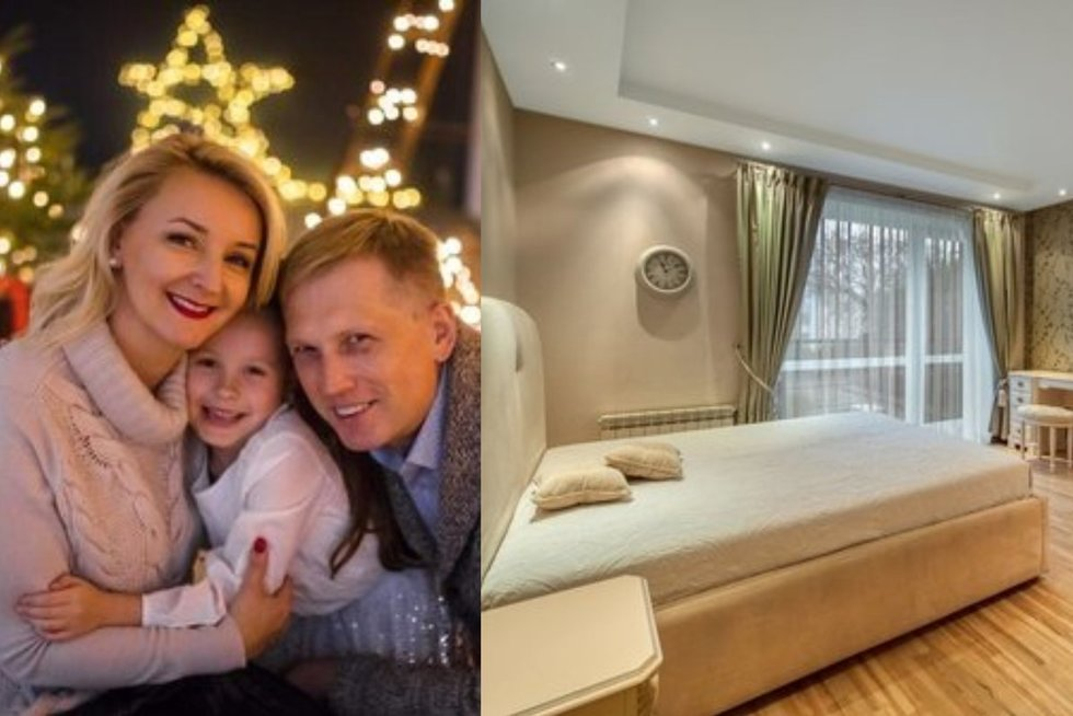 Atlikėja Mauručaitė ir Butkevičius parduoda butą (tv3.lt fotomontažas)