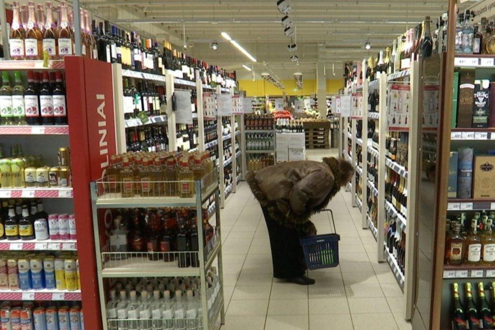 Alkoholis (nuotr. TV3)