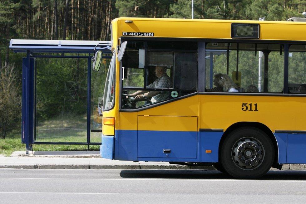 Autobusas Vilniuje (nuotr. Fotodiena.lt)