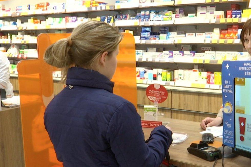 Branginami vaistai (nuotr. stop kadras)