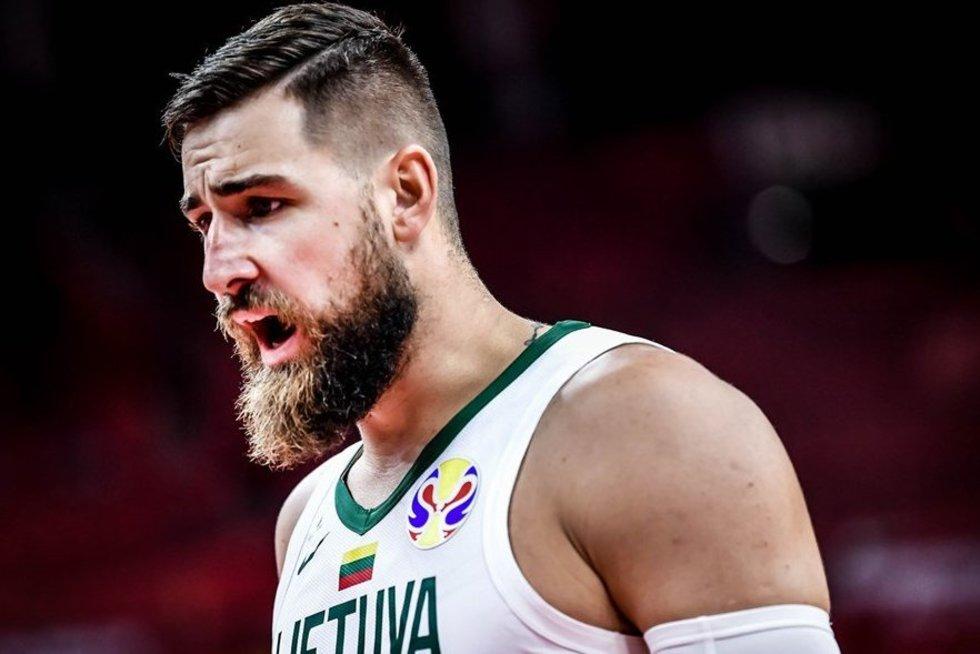 J. Valančiūnas (nuotr. FIBA)