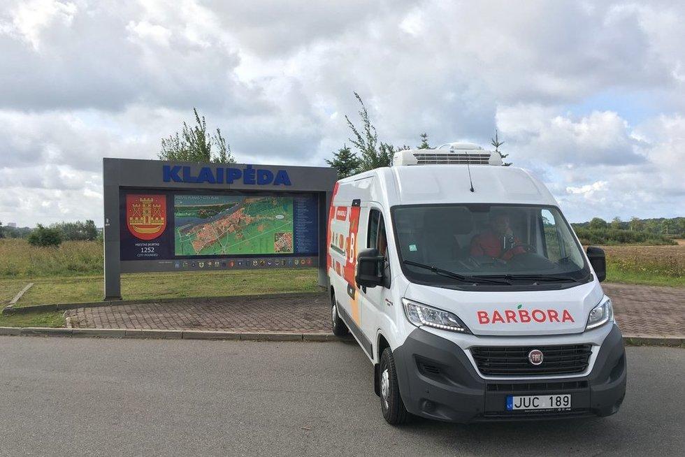 """""""Barbora"""" pradėjo teikti paslaugas Klaipėdoje (nuotr. bendrovės)"""