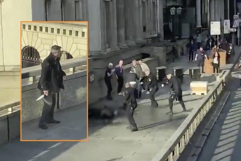 """Vienas iš teroro aktą Londone sustabdžiusių """"herojų"""" yra žiaurus žmogžudys (nuotr. SCANPIX) tv3.lt fotomontažas"""