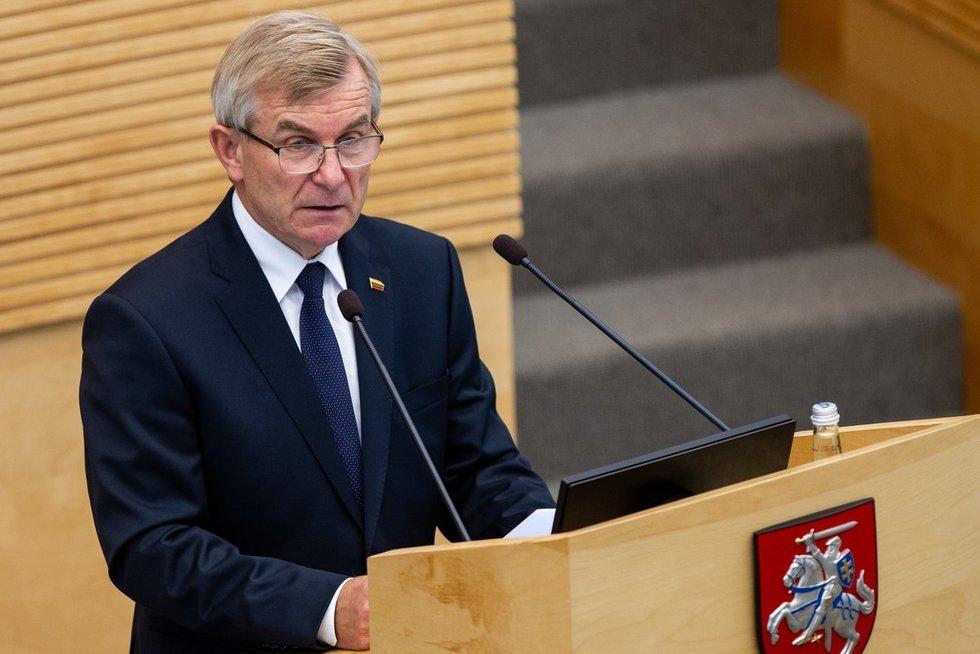 Viktoras Pranckietis (Paulius Peleckis/Fotobankas)