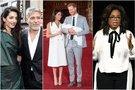 George ir Amal Clooney, Meghan Markle ir princas Harry, Oprah Winfrey (tv3.lt fotomontažas)