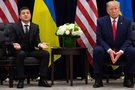 Volodymyras Zelenskis ir Donaldas Trumpas (nuotr. SCANPIX)