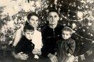 Buvusi tremtinė Zita Belonoša su šeima