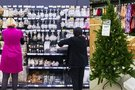 Kalėdinės prekės parduotuvėse (nuotr. Tv3.lt/Ruslano Kondratjevo)
