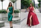 Lietuvės dvynės sukūrė sukneles iš prabangaus šilko: papuošė tituluotą gražuolę