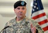 Hodgesas: karių atvykimas rodo, kad Lietuva gali pasikliauti JAV, nepaisant Sirijos