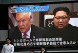 Trumpo ir Kim Jong Uno susitikimas – svarbus pirmasis žingsnis