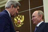 Johnas Kerry: sprendžiant globalias problemas JAV palaiko ryšį su Rusija