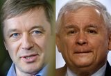 Karbauskis ir Kaczyńskis: lėlininkai, tampantys valdžios virveles