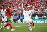 Cristiano Ronaldo toliau štampuoja pergalingus įvarčius