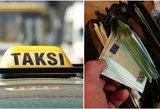 Taksi ir pavėžėjų įkainių skirtumai kai kuriuose miestuose lieka paslaptyje