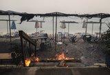 Gaisrai Graikijoje koreguoja lietuvių atostogų planus