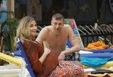 Pagundos filmavimo aikštelėje: N. Gadliauską ir R. Petrauską pribloškė gražuolė gelbėtoja