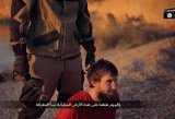 """""""Islamo valstybė"""" paviešino kraupų egzekucijos vaizdo įrašą"""