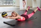 Šeši raumenis stiprinantys pratimai su kamuoliais pažengusiems bėgikams