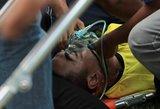 Po susidūrimo per futbolo rungtynes mirė vartininkas